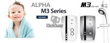Máy tắm nước nóng Alpha M3E