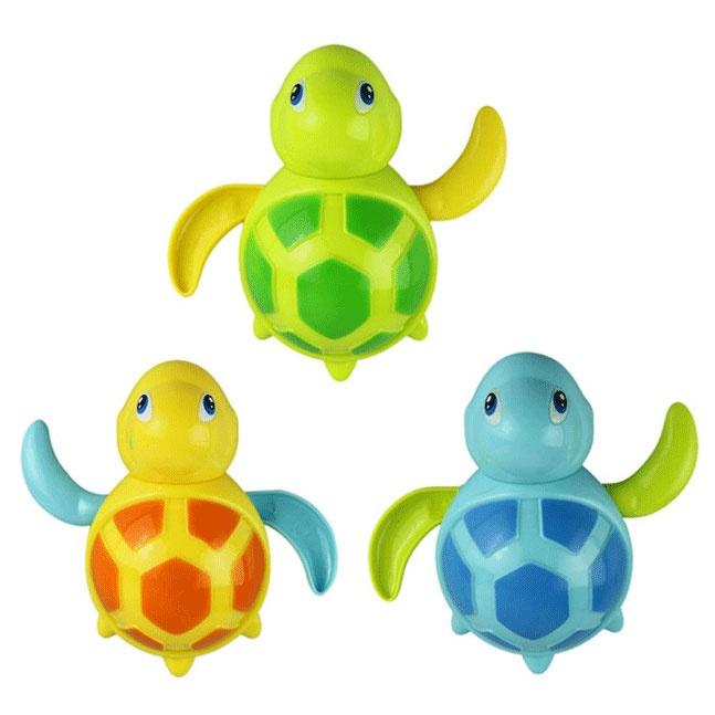 chú rùa biết bơi