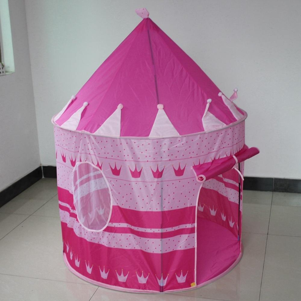 Lều bóng lâu đài công chúa xinh xắn cho bé (Hồng)
