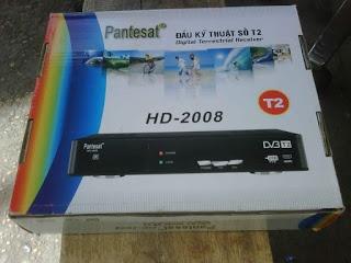 Đầu Kỹ Thuật Số DVB-T2 Pantesat HD-2008 (Đen)