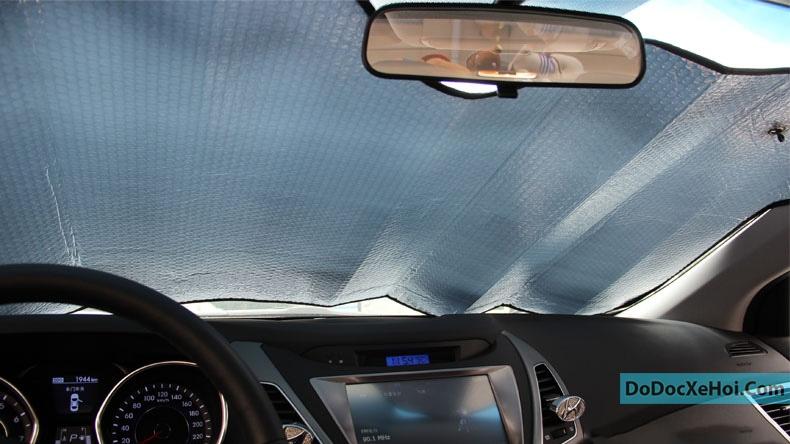 Tấm chắn nắng kính trước (Trong xe) hình 5