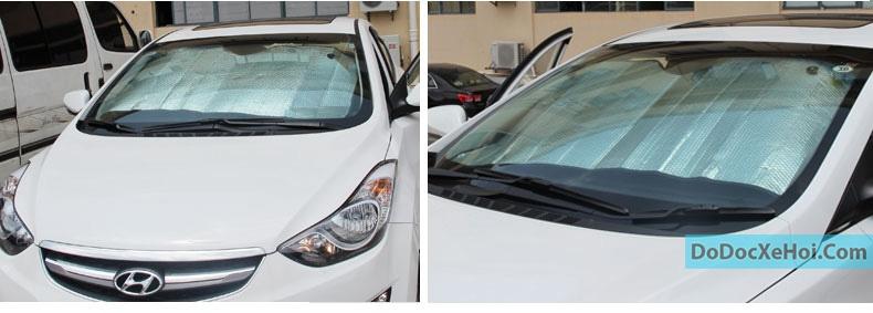 Tấm chắn nắng kính trước (Trong xe) hình 7