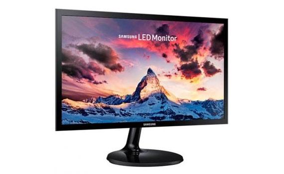 Kích thước màn hình vi tính Samsung LS22F350FHEXXV lớn 21.5 inches.