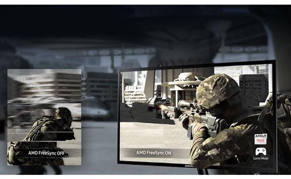 Màn hình vi tính Samsung LS22F350FHEXXV vận hành mượt mà.