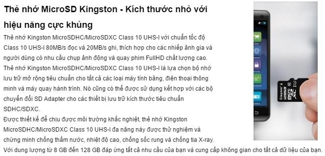 Kingston-Micro-SDHC-16GB-class-10-UHS-I-45MBs