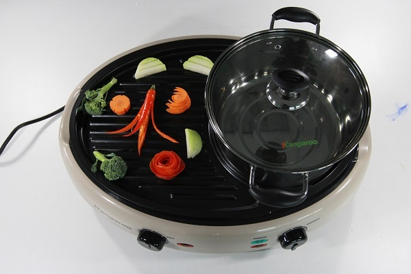 bếp lẩu nướng Kangaroo Kg96N