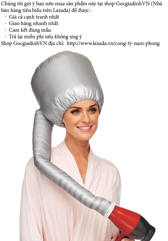 Mũ hấp tóc sấy nóng 2016