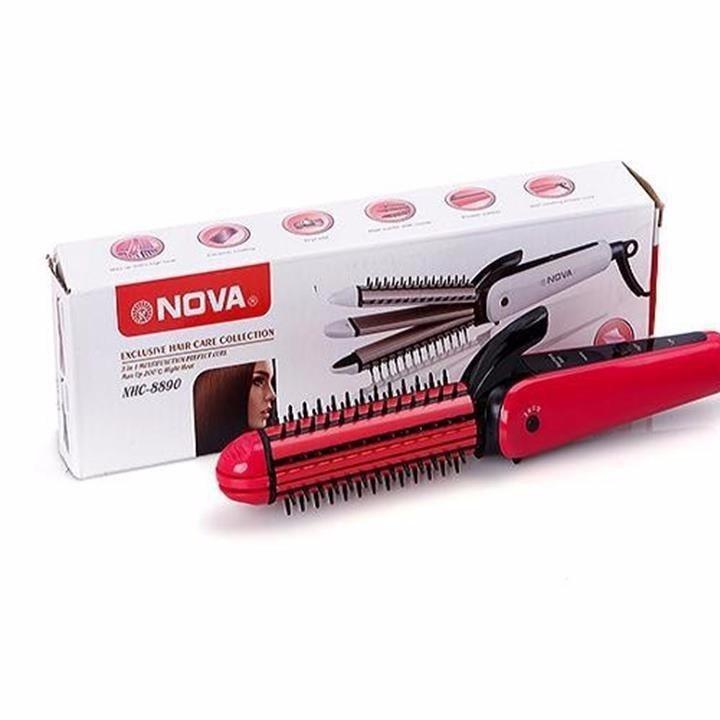 Lược điện tạo kiểu tóc 3 in 1 Nova 8890 6