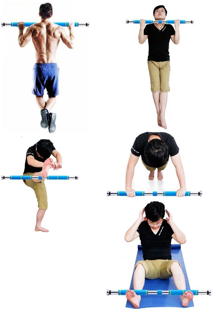 một vài cách tập thể dục với xà đơn treo tường 60-100 cm loại mới 2015