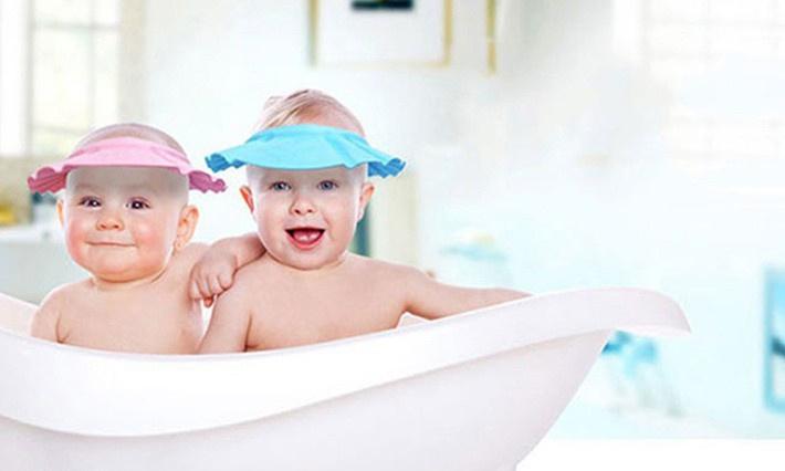 Combo 2 nón gội đầu chắn nước cho bé