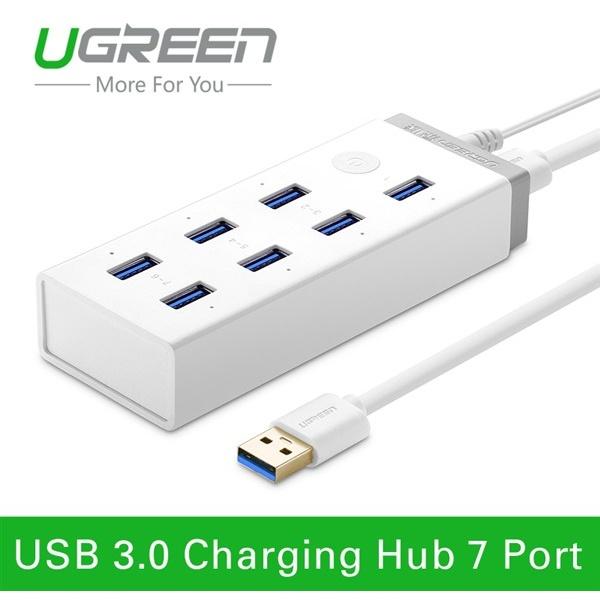 Hub 7 cổng USB 3.0 kèm sạc điện thoại, máy tính bảng Ugreen UG-20296 7
