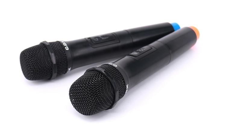 Microphone không dây C.O.K W-700 Đen 4