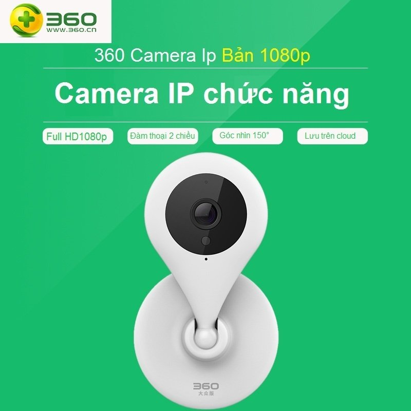 Camera IP 1080p (Trắng)