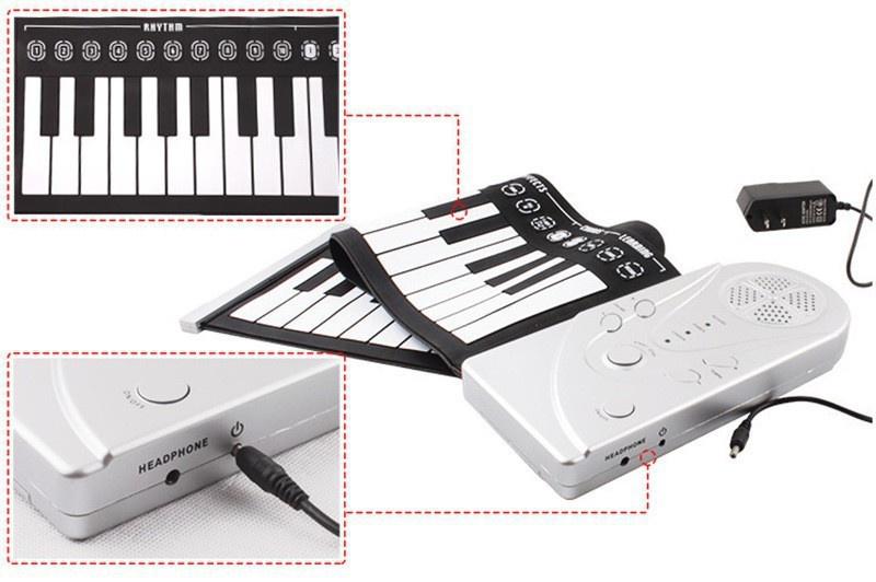 Đàn Piano Cuộn tiện lợi 6