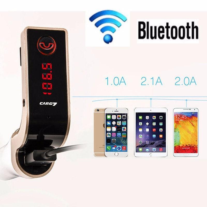 Sạc CAR G7 CAO CẤP , KẾT NỐI BLUETOOTH, NGHE NHẠC MP3 TỪ USB, THẺ NHỚ 8