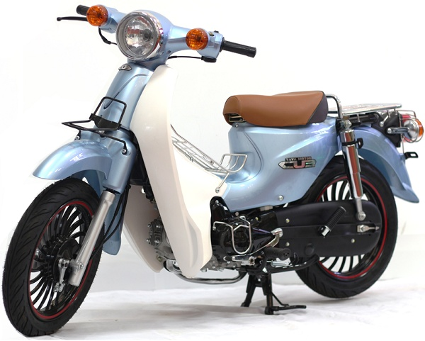 Xe máy Taya Motor Cub 81 Minion màu