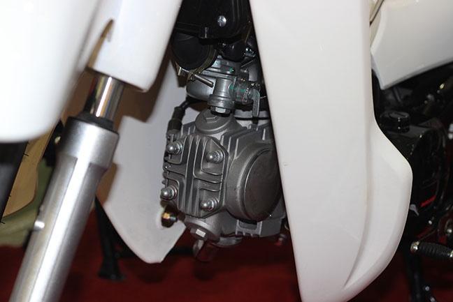 Lốc máy với khối động cơ 50cc
