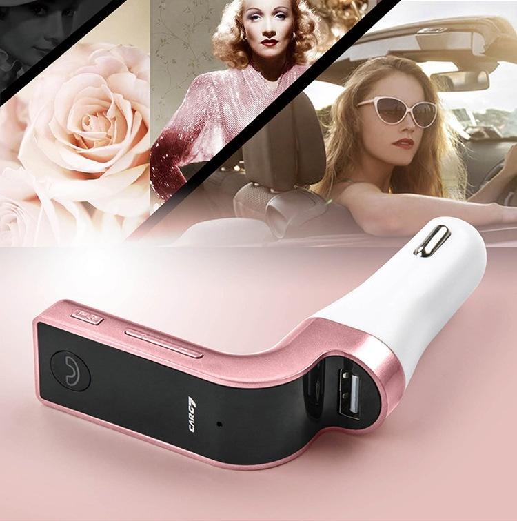 Sạc CAR G7 CAO CẤP , KẾT NỐI BLUETOOTH, NGHE NHẠC MP3 TỪ USB, THẺ NHỚ 4