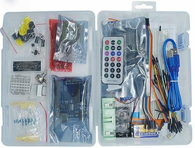Bộ kit tự học arduino điều khiển cơ bản lazada vn