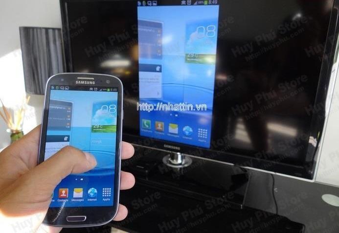 Hướng dẫn sử dụng HDMI không dây Anycast với điện thoại Android.