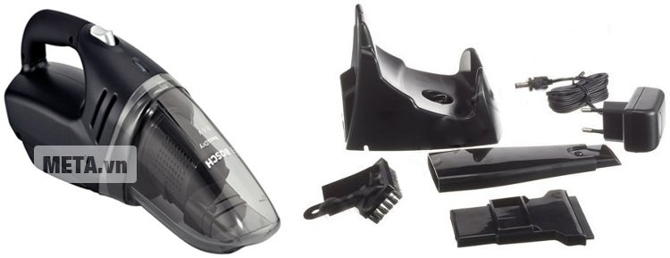 Máy hút bụi sạc điện Bosch BKS4033 và phụ kiện