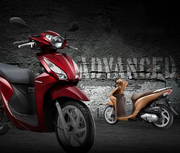 Xe tay ga Honda Vision 110cc (Trắng)=30.900.000đ