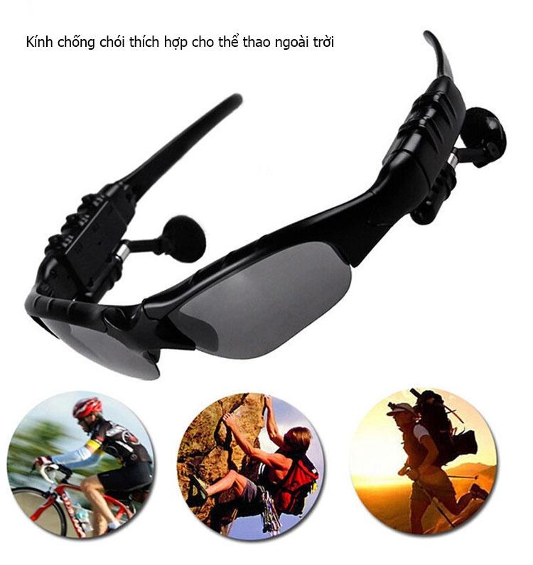 Kết quả hình ảnh cho Kính nghe nhạc bluetooth Sunglasses