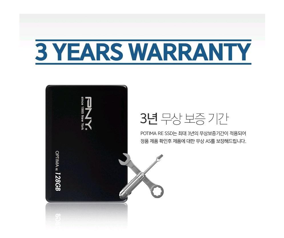 Ổ cứng SSD PNY OPTIMA RE SERIES 128GB (Đen)