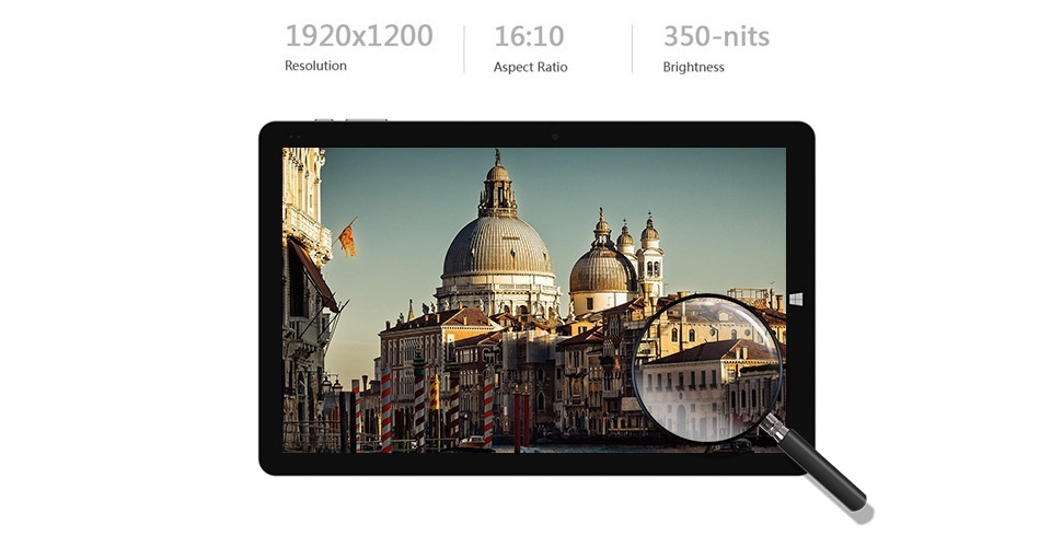 Máy tính bảng Chuwi Hi10Pro chạy Windows 10 + Android 5.1 4