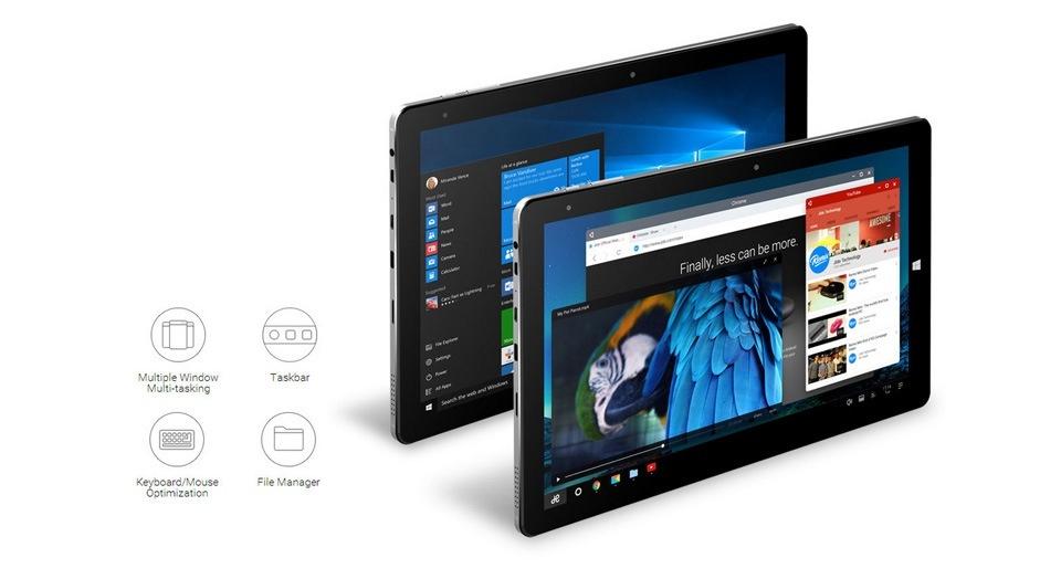 Máy tính bảng Chuwi Hi10Pro chạy Windows 10 + Android 5.1 7