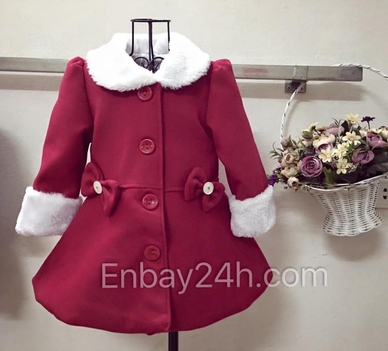 Áo khoác dạ cho bé yêu hàng thiết kế 1