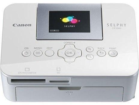 Máy in ảnh Canon Selphy CP1000 trang bị màn hình LCD