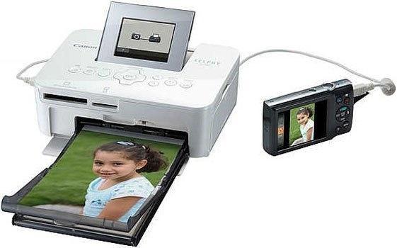 Máy in ảnh Canon Selphy CP1000 có kết nối đa dạng