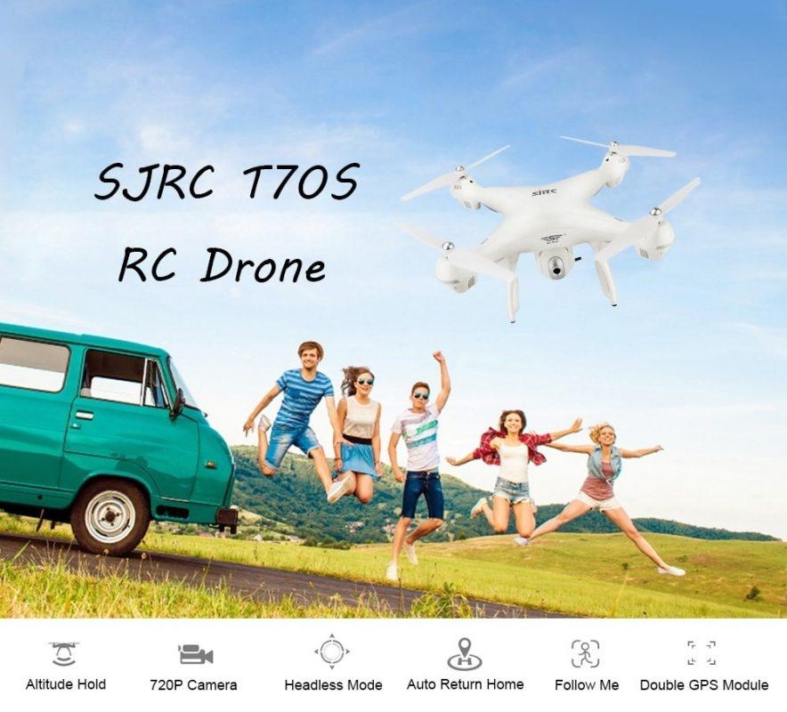 Flycam SJRC S70W