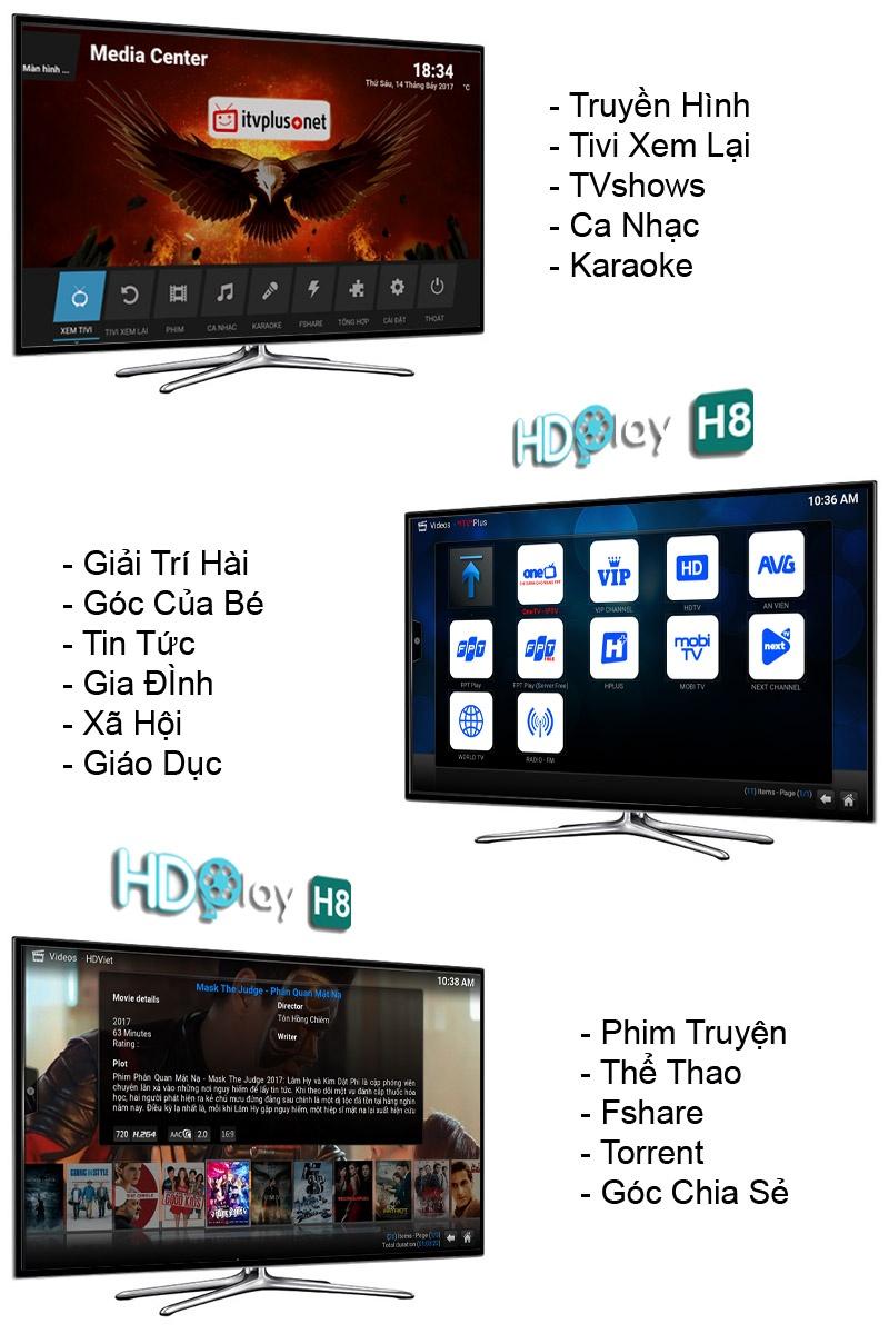 kho giải trí HDPLAY H8