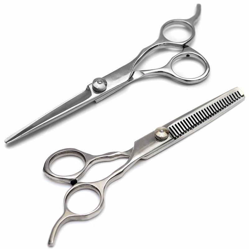 Bộ 2 kéo cắt tóc và tỉa tóc JAGUARĐức 3