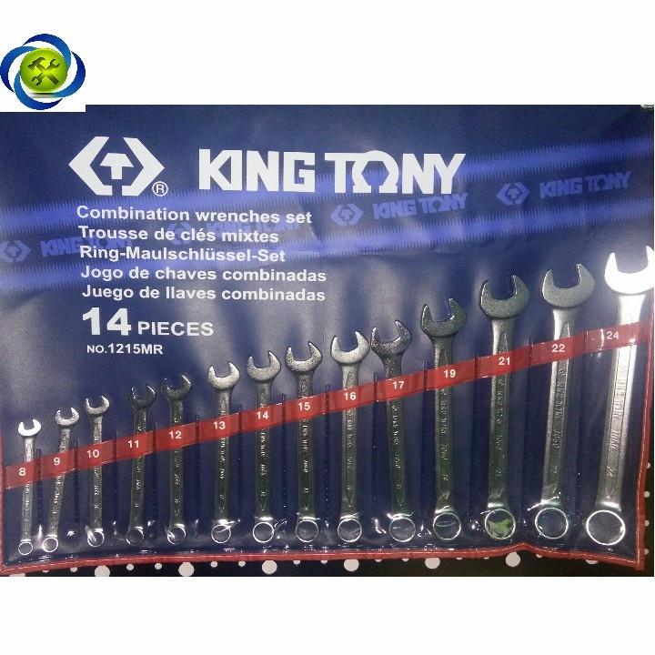 Bộ vòng miệng Kingtony 1215MR 14 chi tiết