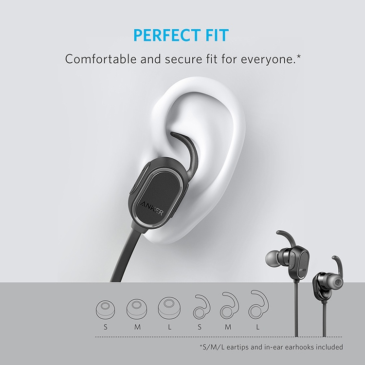 Tai Nghe Anker SoundBuds Sport - A3233