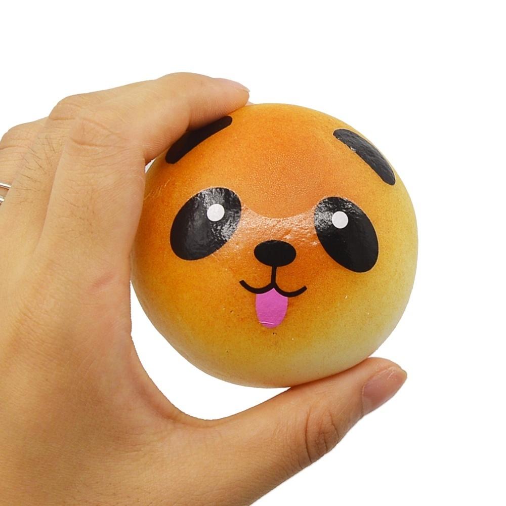 Hãy mua 12 Pcs Kawaii Mini Squishy Soft Simulated Food Panda Bread Cake Buns Pendants Key Rings Keychains Phone Chain Straps Ornaments Accessories Random ...