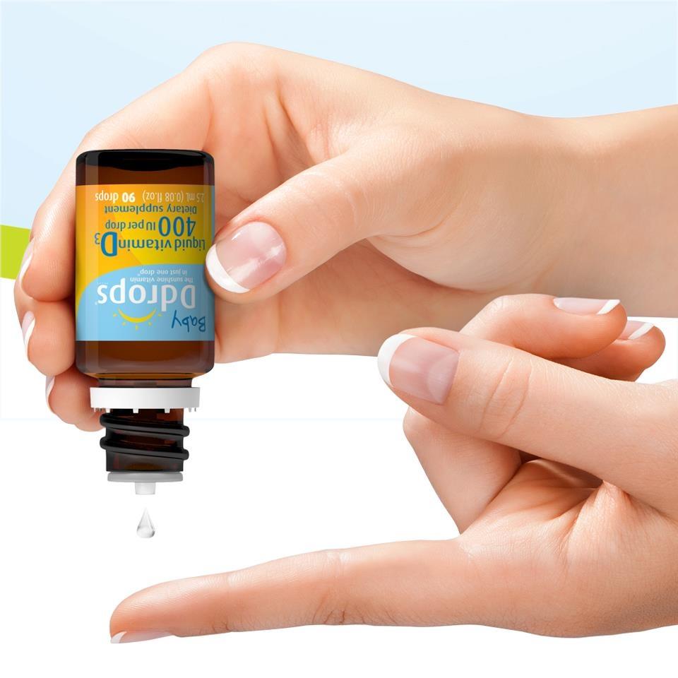 Vitamin D cho bé Baby Drops(90 giọt)