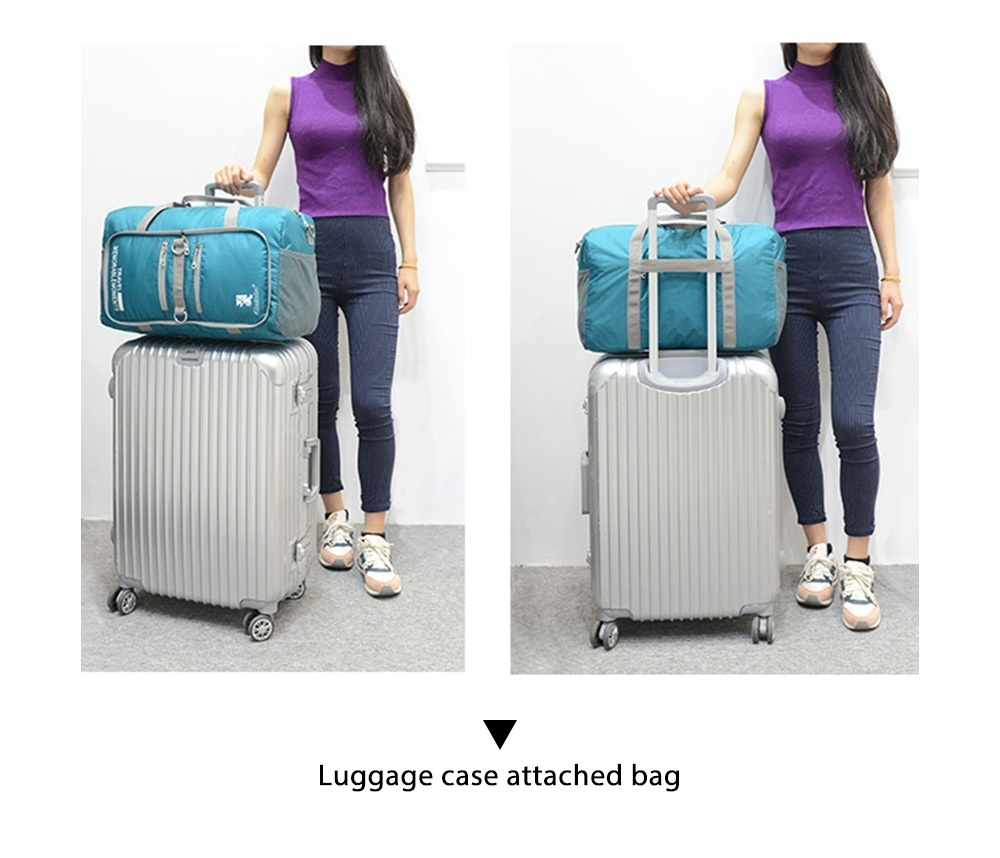 Tanluhu 682 25L Outdoor Large Capacity Foldable Duffle Bag Gym Traveling Luggage Pack