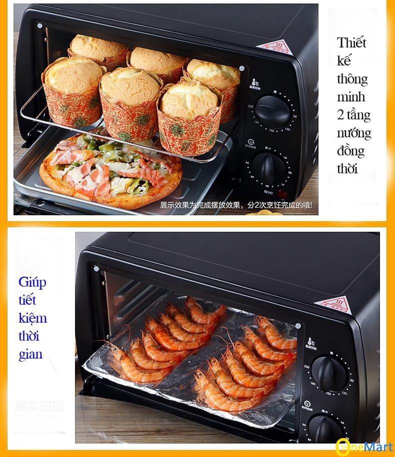 lò nướng điện kensun mini thông minh