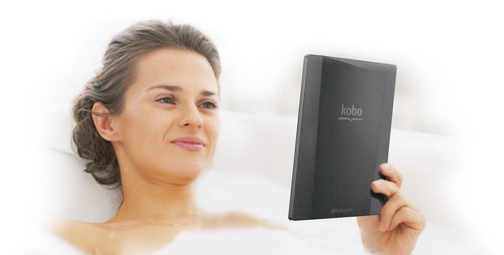 máy đọc sách kobo aura h2o cũ like new