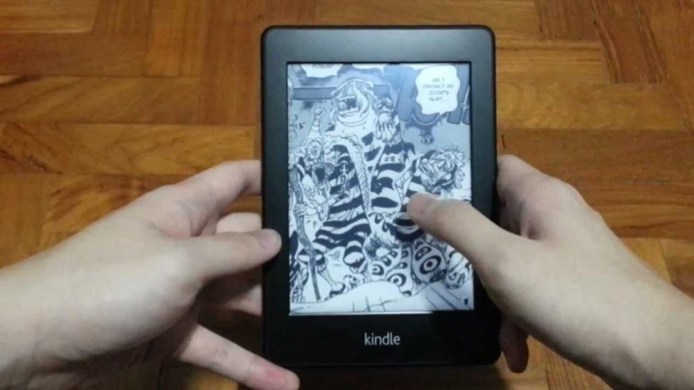 máy đọc sách kindle paperwhite manga