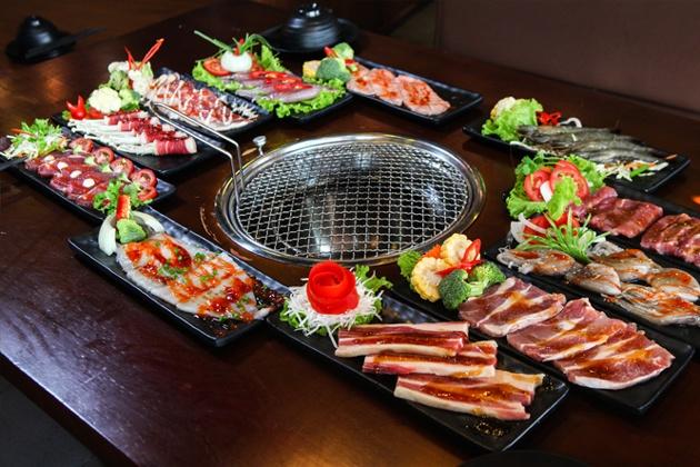 Buffet Nướng Lẩu Thái Hấp Dẫn - Thái BBQ Mipec Long Biên