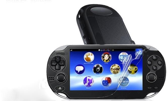 ... Hot LCD Screen Protective Film Clear For PSVITA Playstation Vita PS VITA intl