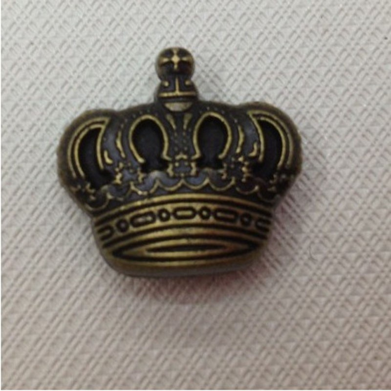Metal Snap Button Imperial Crown (1)