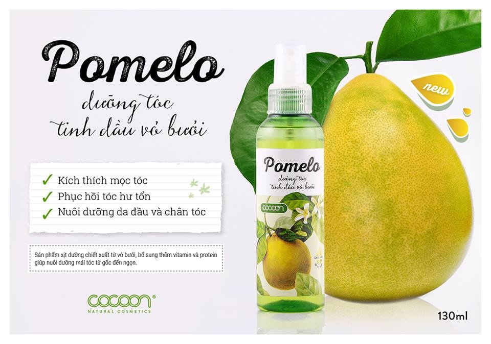 Kết quả hình ảnh cho dưỡng tóc tinh dầu bưởi pomelo