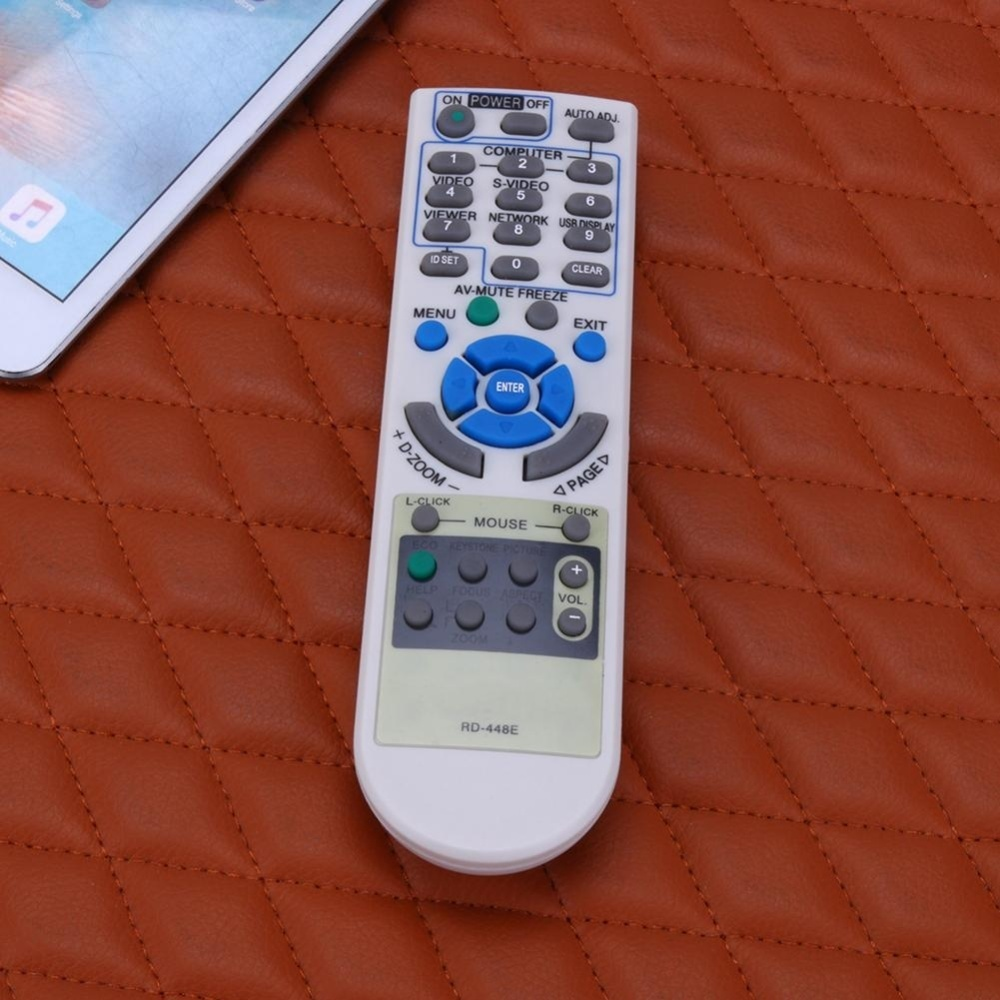 NEC PROJECTOR REMOTE M230X M260WS M260XS M271X M311XS M350XS M420X Source · It is manual measurement there may be 1 3mm error And item color displayed in ...