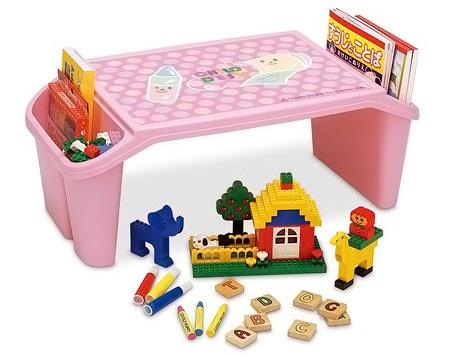 Bàn nhựa cho bé màu hồng Iseto giá rẻ bán tại Colorful Shop